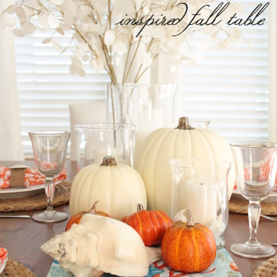 Flashback Friday: A Coastal Inspired Fall Table