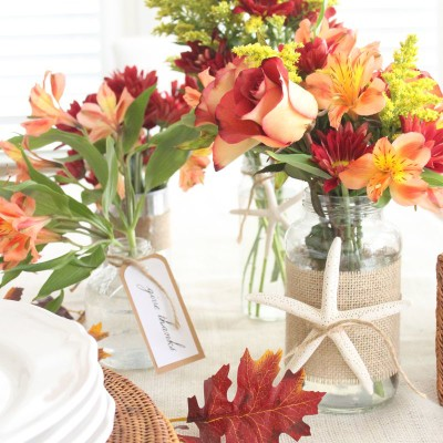 Flash Back Friday: Coastal Fall Arrangements