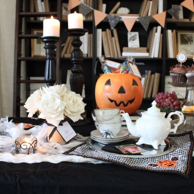 Flashback Friday: The Haunted Tea Party