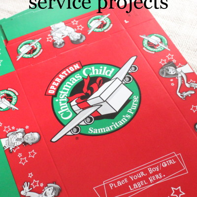Stress Less Holiday Service Projects