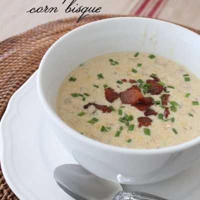 January Recipe of the Month: Shrimp and Corn Bisque