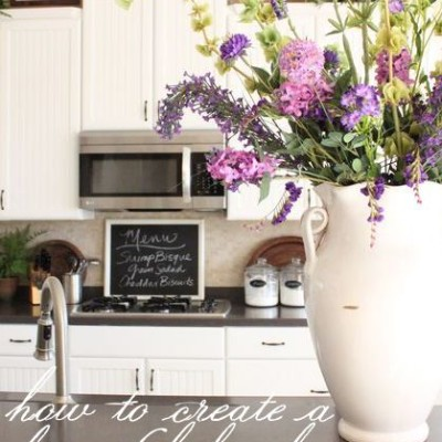 Summer Decorating Series: How to Create a Beautiful Kitchen