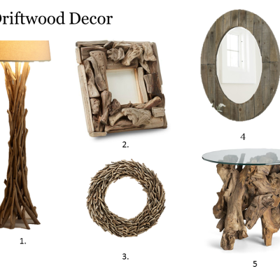 Five for Friday- Driftwood Decor