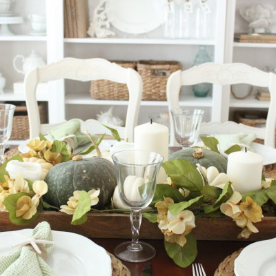 Softer Fall Colors for Dining Room…