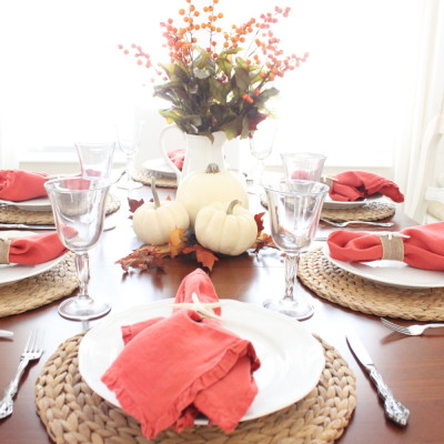 Fall in the Dining Room…