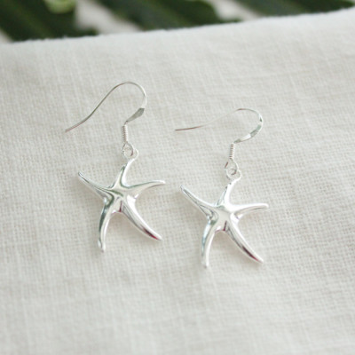 Sterling Silver Starfish Earrings Giveaway!