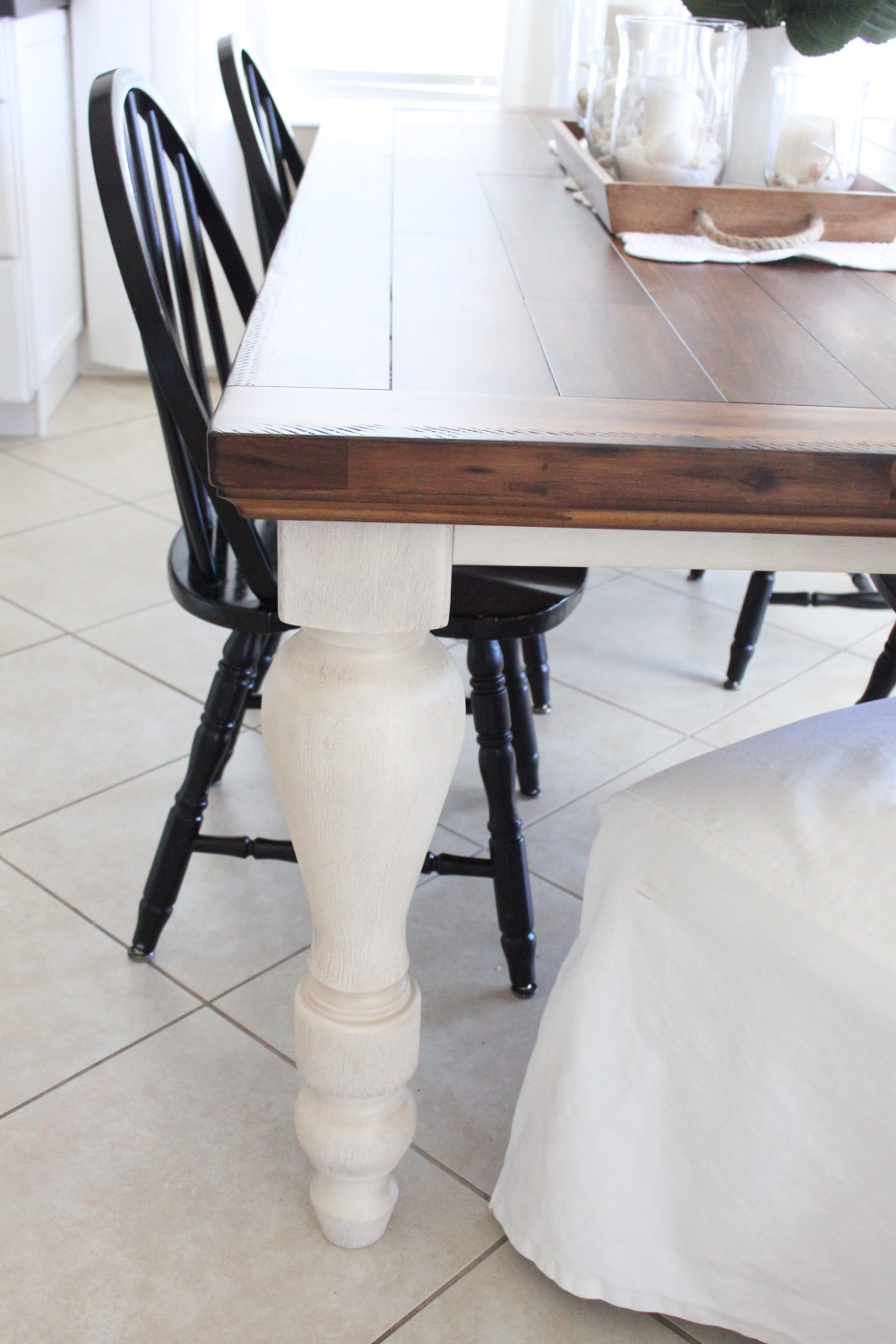 a new kitchen table - starfish cottage