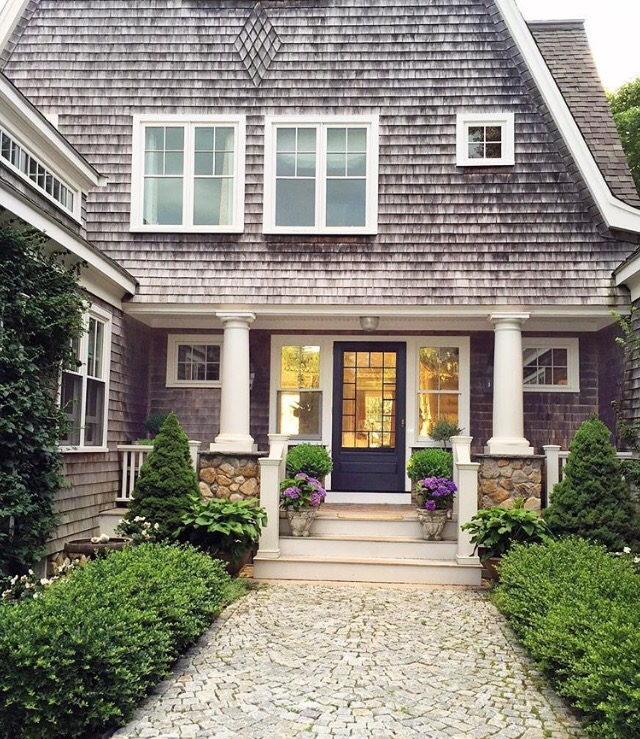 Totally coastal tuesday cape cod shingle style beach house starfish cottage - Cape cod style homes ...