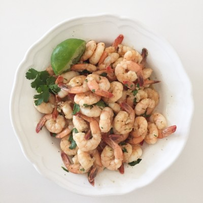 Starfish Food: Cilantro Lime Shrimp