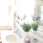 Lavender in the Bathroom