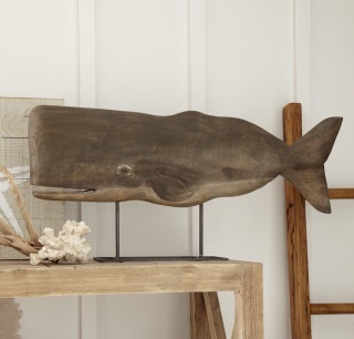 Totally Coastal Tuesday: Birch Lane Wooden Whale