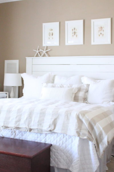 DIY: Shiplap Headboard