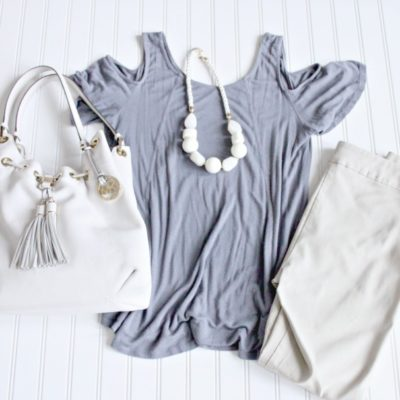 Starfish Style: Grey and Khaki
