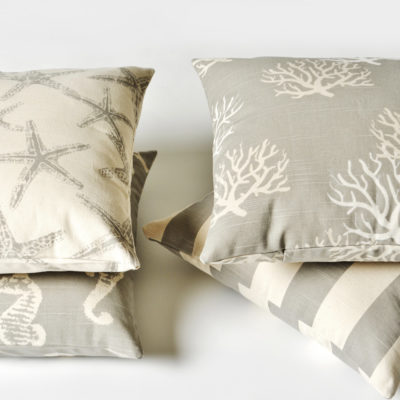 Totally Coastal Tuesday- Coastal Grey Pillows
