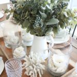 A Coastal Fall Table and an Autumn Tablescape Blog Hop!!