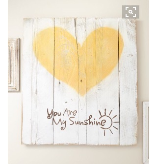 Totally Coastal Tuesday: You are my Sunshine Art