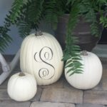 Pumpkins on the Porch…