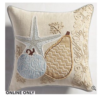 Totally Coastal Tuesday-Pier 1 Pillows