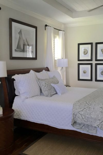 Classic Coastal Style Bedroom- A Before and After…