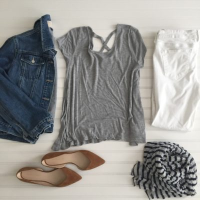 Starfish Style: Greys, Denim and White