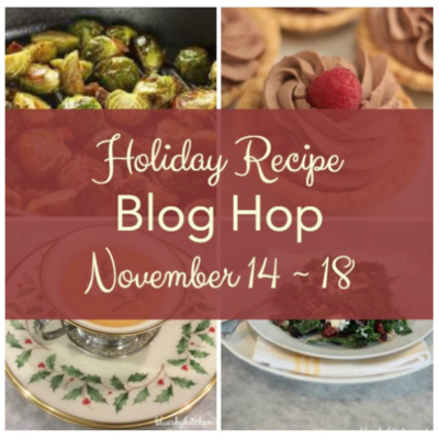 Easy Caprese Salad Skewers + Holiday Recipe Blog Hop