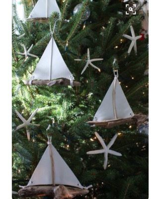 Coastal Christmas Decor Ideas from Pinterest