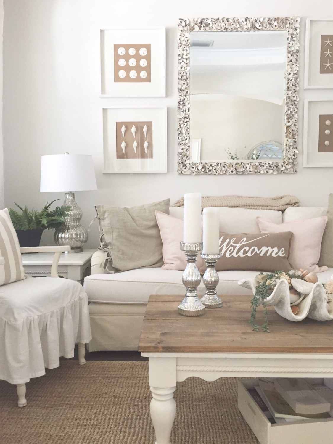 Blush Pink for the Cottage February - Starfish Cottage