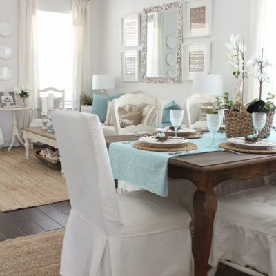 Easter 2017- The Dining Room