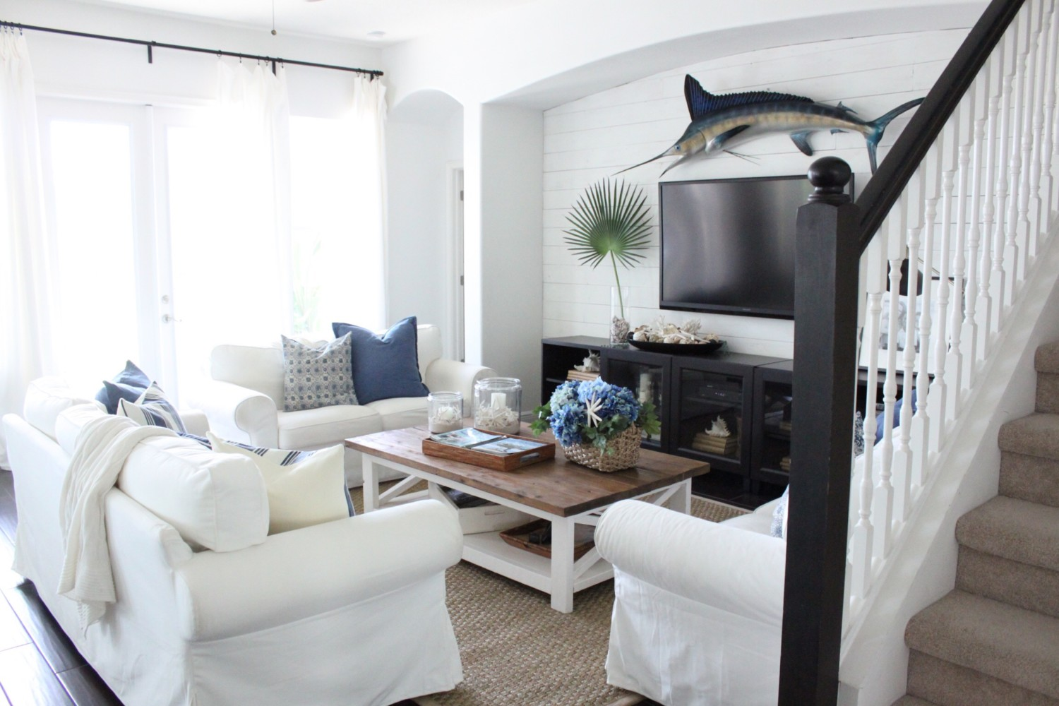 May 2017- The Family Room - Starfish Cottage