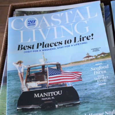 Coastal Living Magazine 20th Anniversary- Congrats to Florida!!