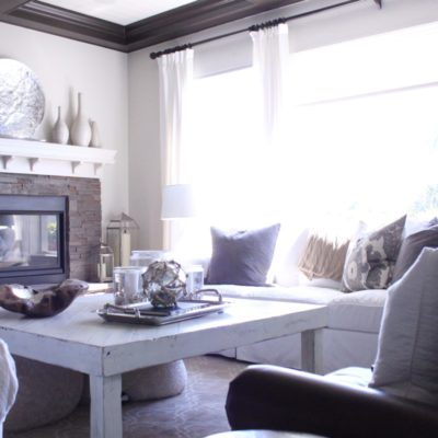 Recent Project: Coastal Greys and Neutrals- Part 1: The Family Room