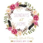 Sundays at Home- October 15, 2017