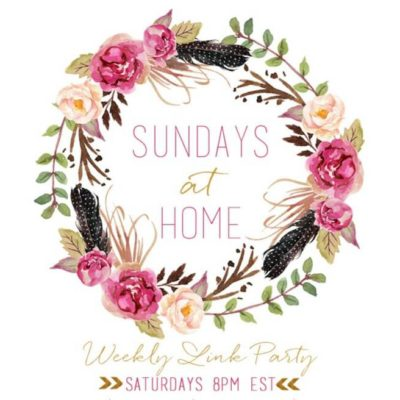 Sundays at Home- September 17, 2017