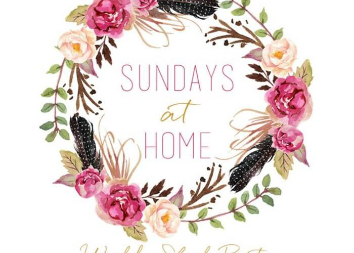 Sundays at Home- July 23
