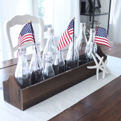 Red White and Blue for the Kitchen