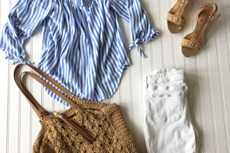 Starfish Style: Blue and White Stripes for Summer