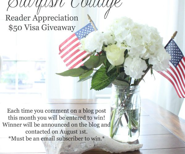 This Week at the Cottage, June 26-July 1 and a Giveaway!!