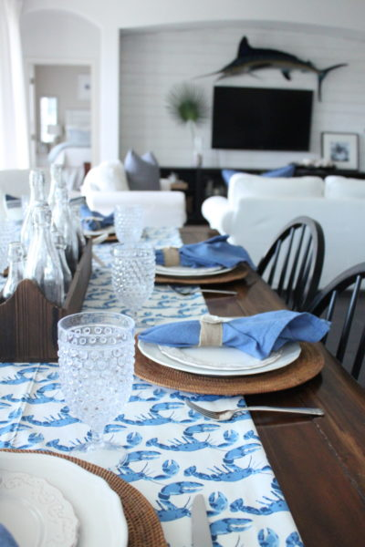 A Coastal Blue Crab Table