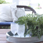 Late Summer Porch- Blues and Greys