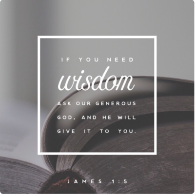Motivational Monday: James 1:5