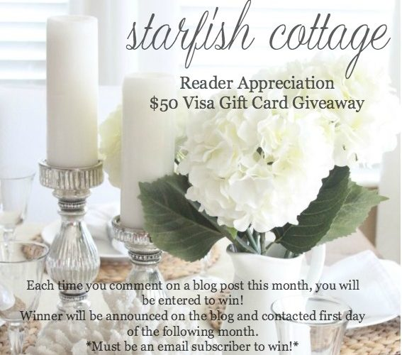 August Giveaway Winner Announced!