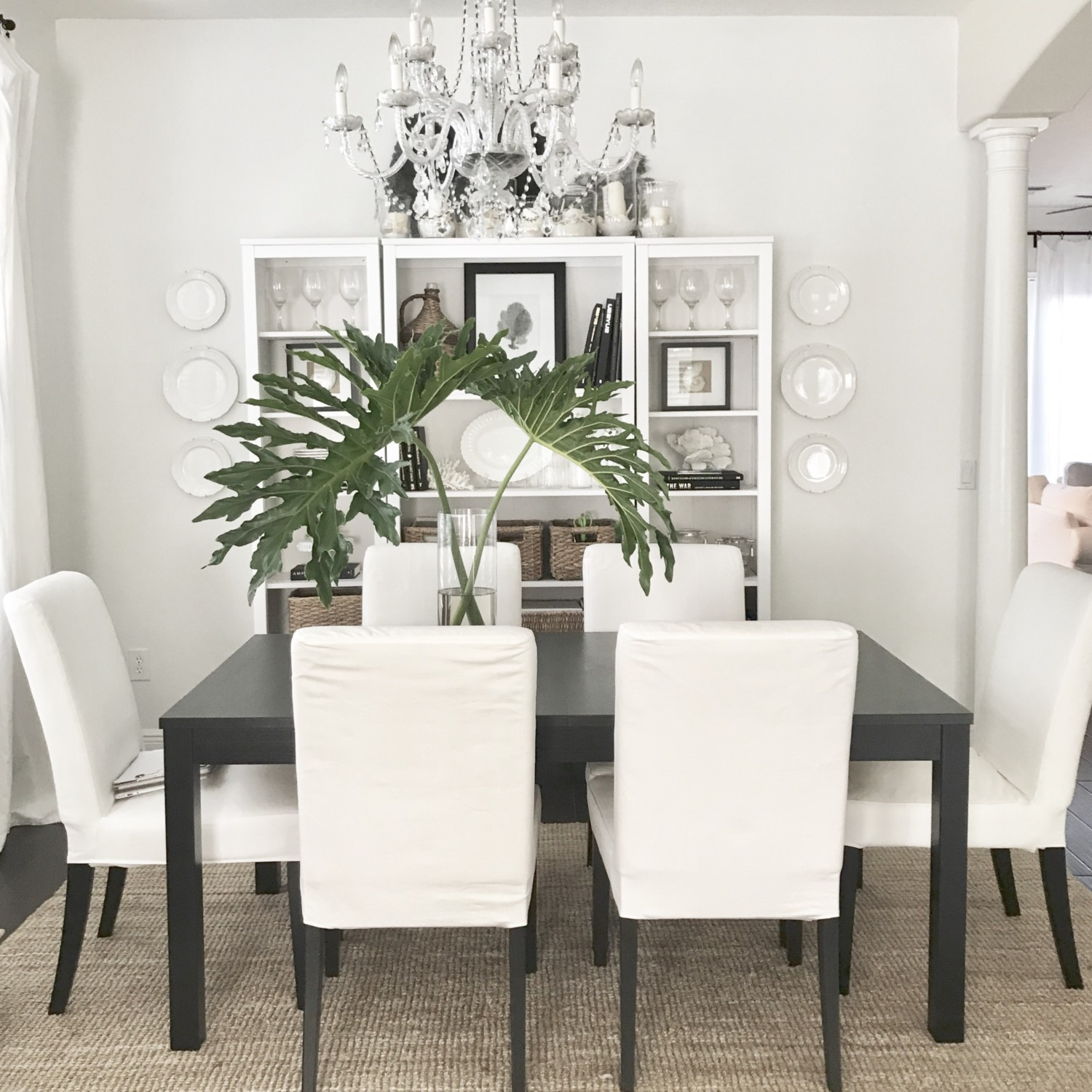 Dining Room Updates - Starfish Cottage
