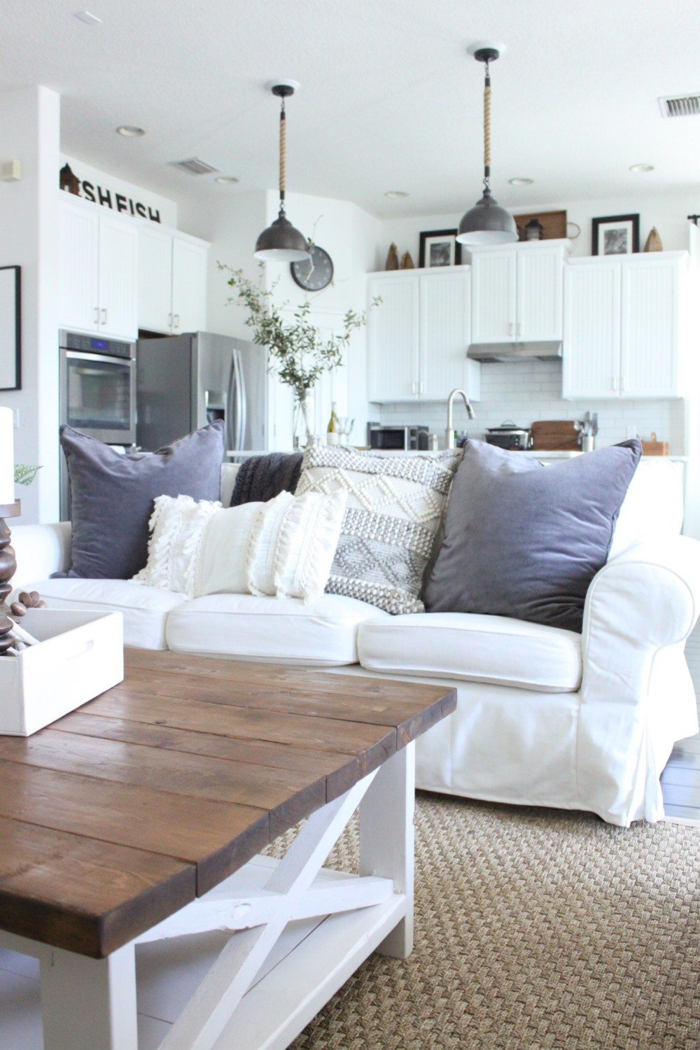 Beachy Boho Style For The Family Room Starfish Cottage