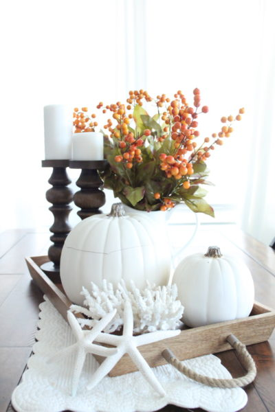 A Late Fall Tablesetting