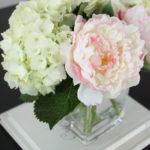 Designer Trick: Mixing Fresh and Faux Florals